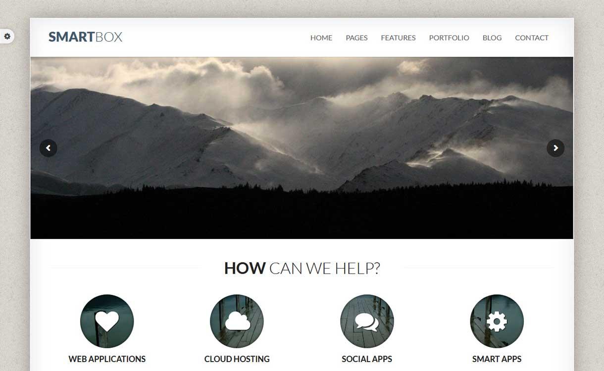 SmartBox - Das beste WordPress Bootstrap-Thema