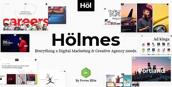 Holmes - Ən yaxşı WordPress Reklam mövzusu