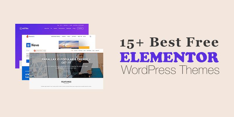 15+ paras ilmainen Elementor WordPress -teema