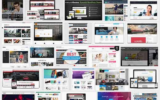 Los temas de WordPress ofrecen posibilidades de diseño ilimitadas.
