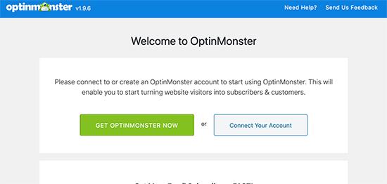 OptinMonster-i veb saytınıza qoşun