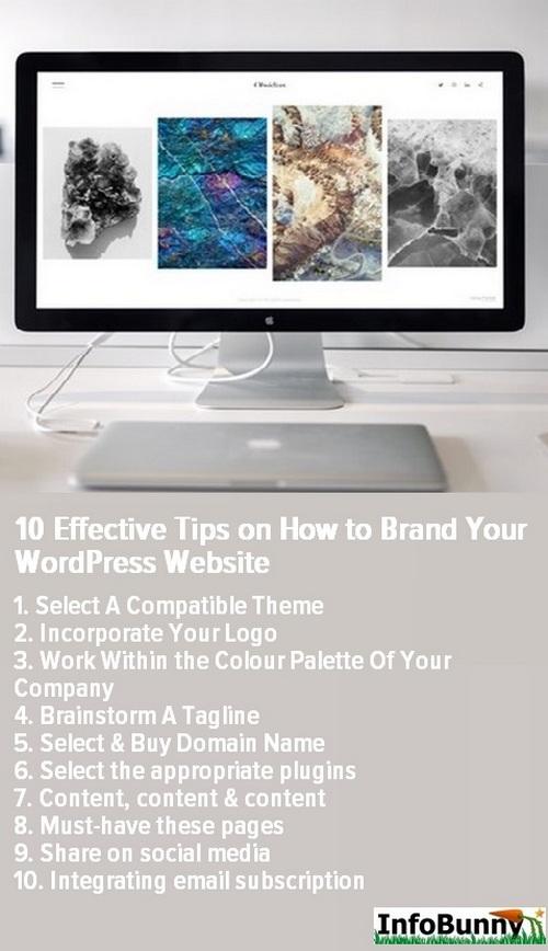 Markieren Sie Ihre WordPress-Website - Pinterest Bild teilen