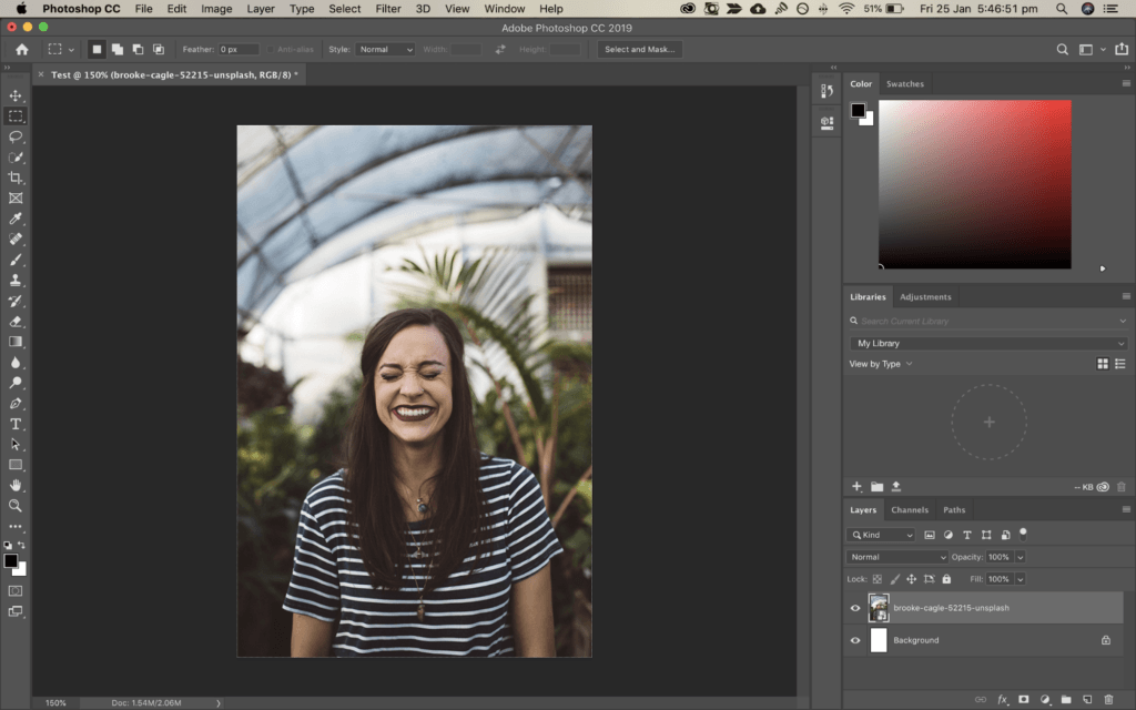 Photoshop redaktoru