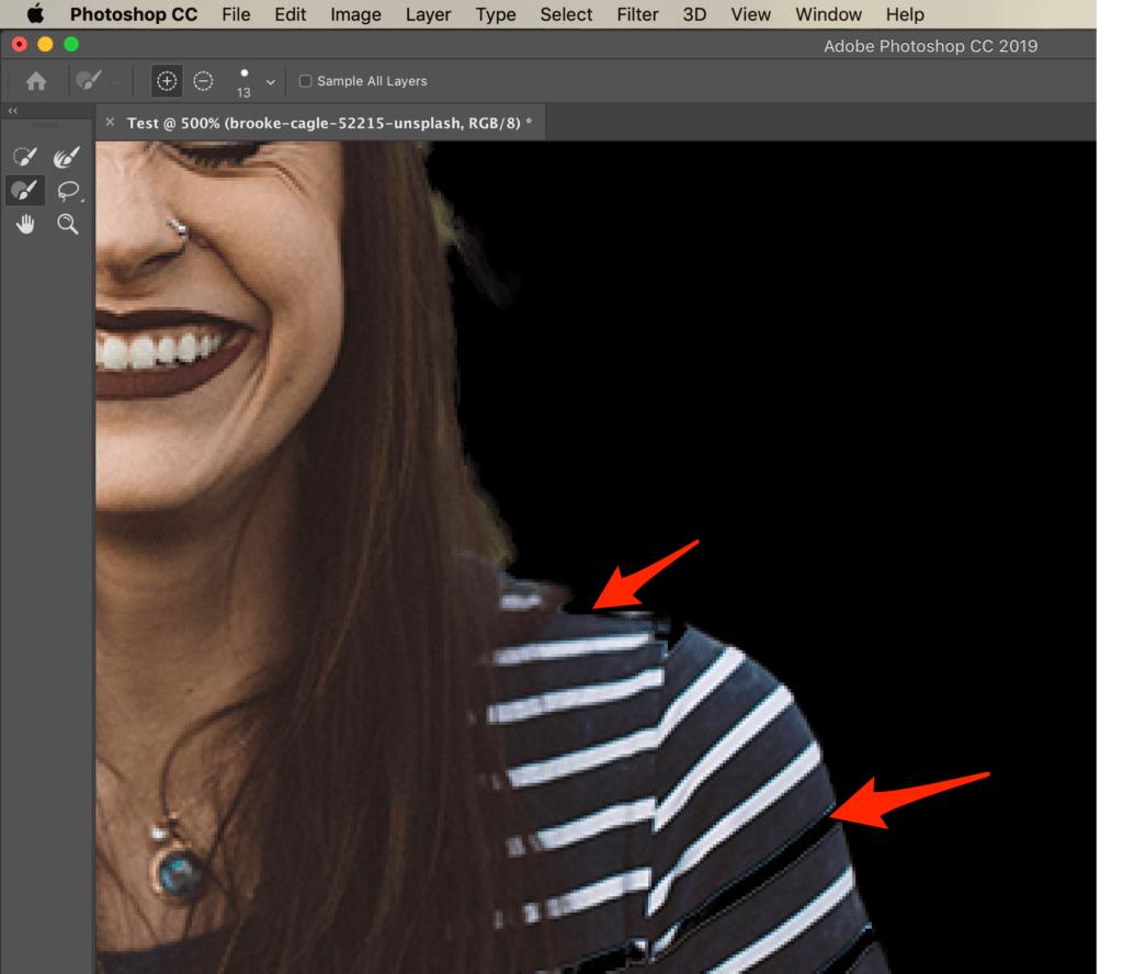 Photoshop görüntüsünü seçin