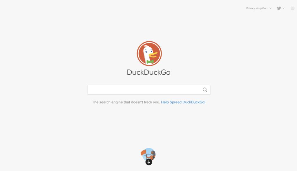DuckDuckGo Finder
