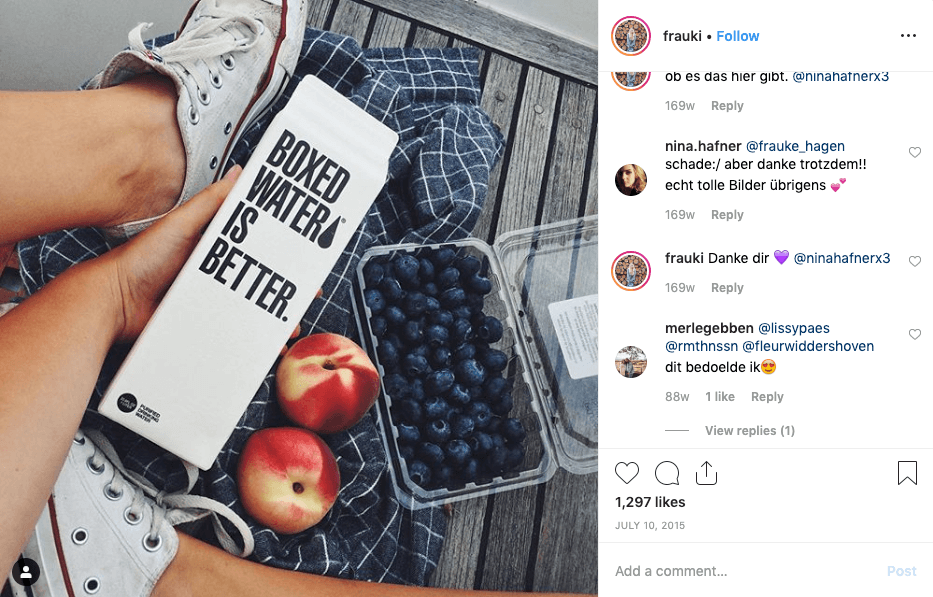 Marketinq təsiri Instagram | Ən yaxşı marketinq Instagram 1