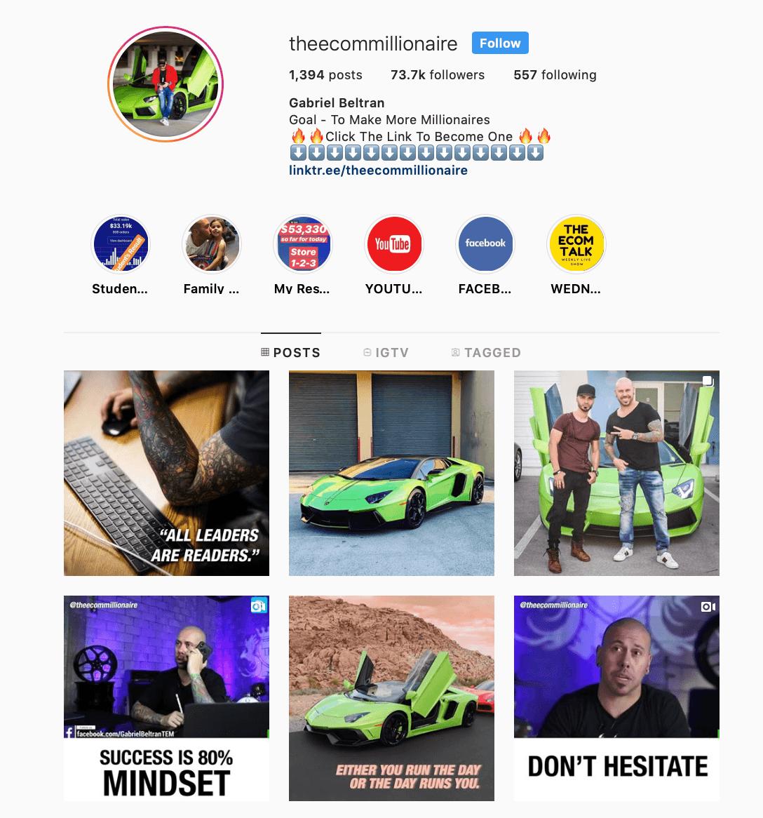 Təsirli marketinq Instagram | Ən yaxşı marketinq Instagram 17