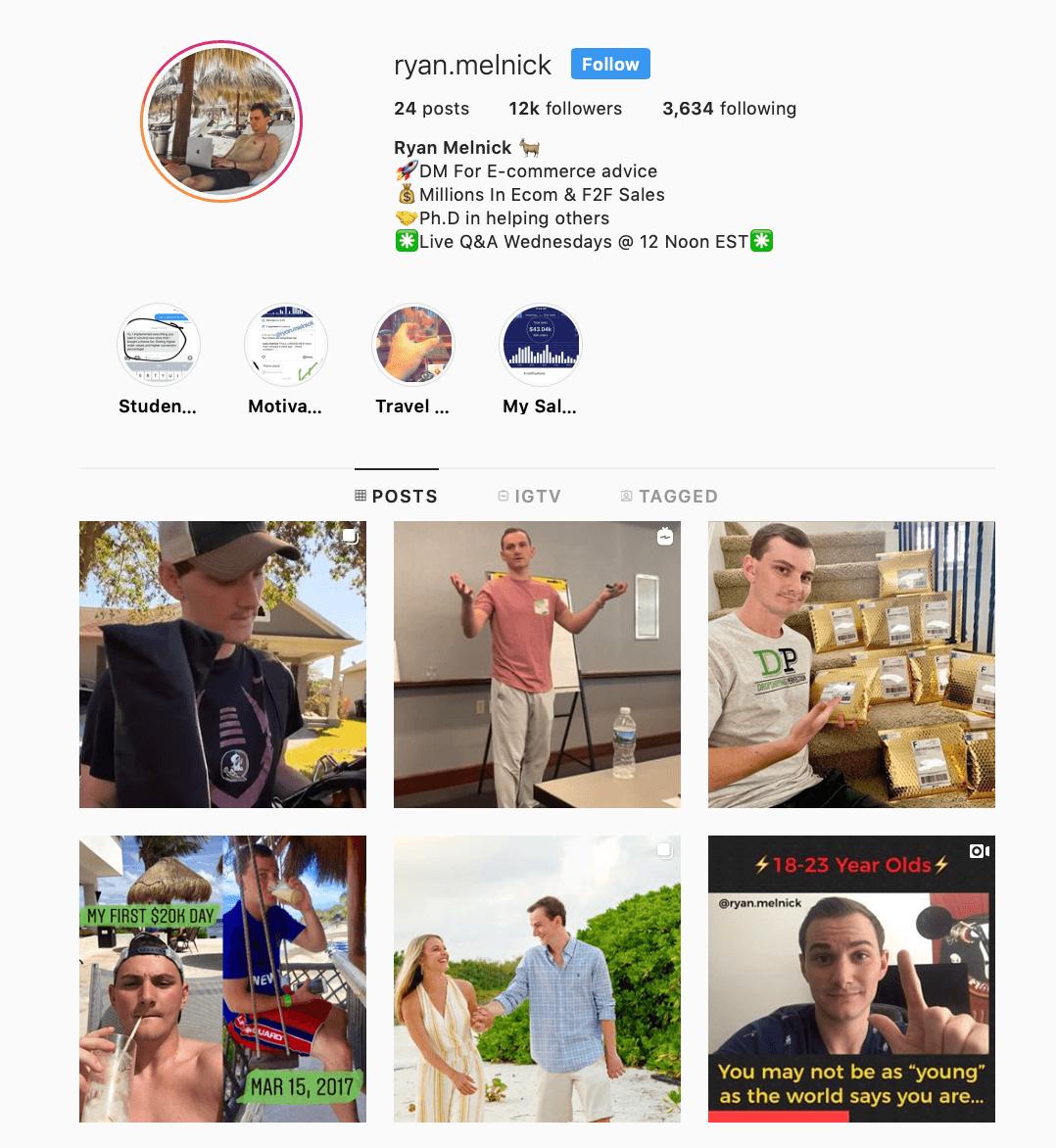 Təsirli marketinq Instagram | Ən yaxşı marketinq Instagram 18