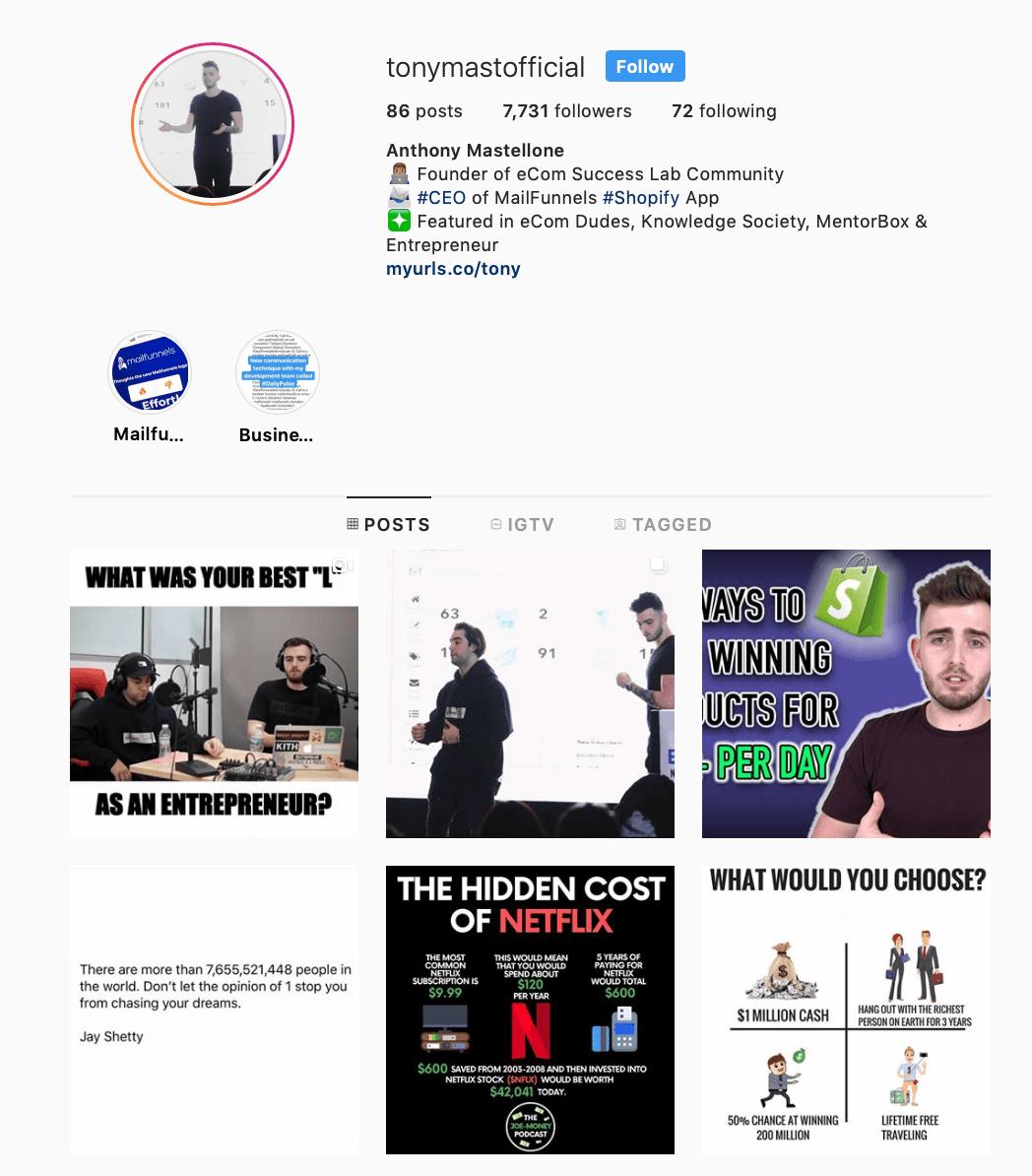 Marketinq təsiri Instagram | Ən yaxşı marketinq Instagram iyirmi