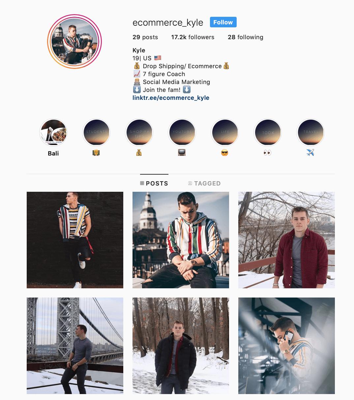 Təsirli marketinq Instagram | Ən yaxşı marketinq Instagram 19