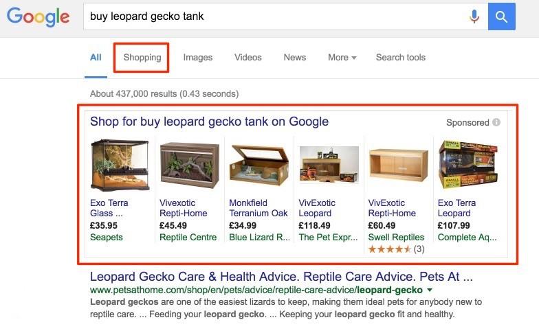 Google Shopping Bələdçisi