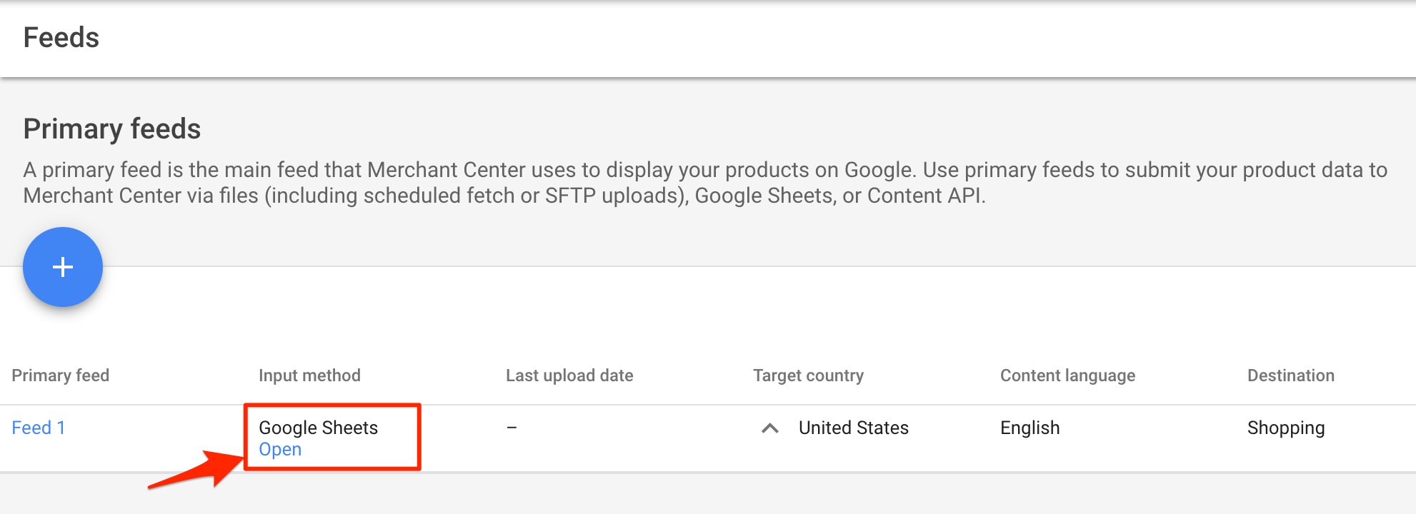 Google Shopping Channel
