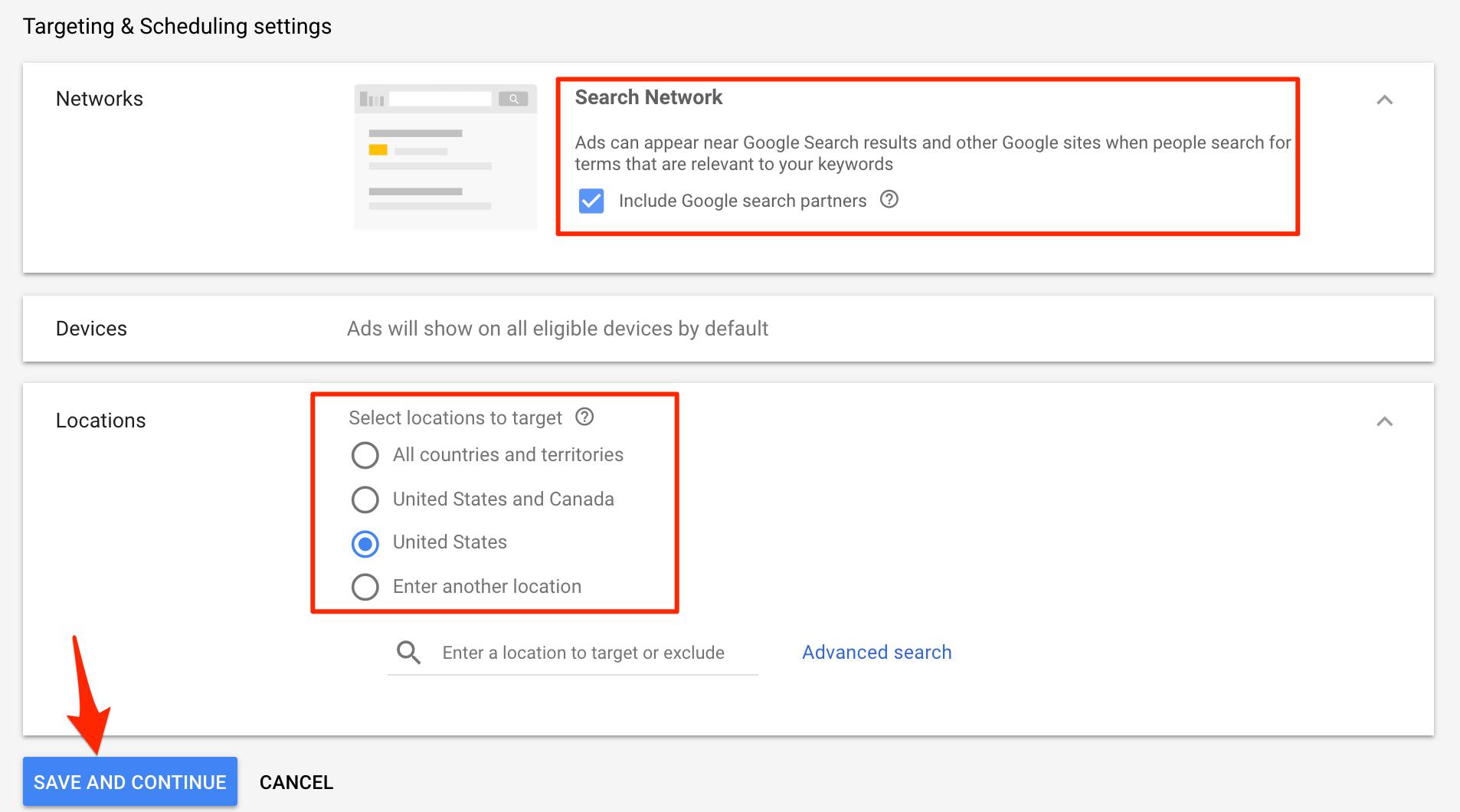 Google Shopping kampaniyası parametrləri
