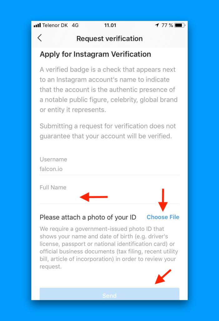 Cómo ser verificado en Instagram 2019