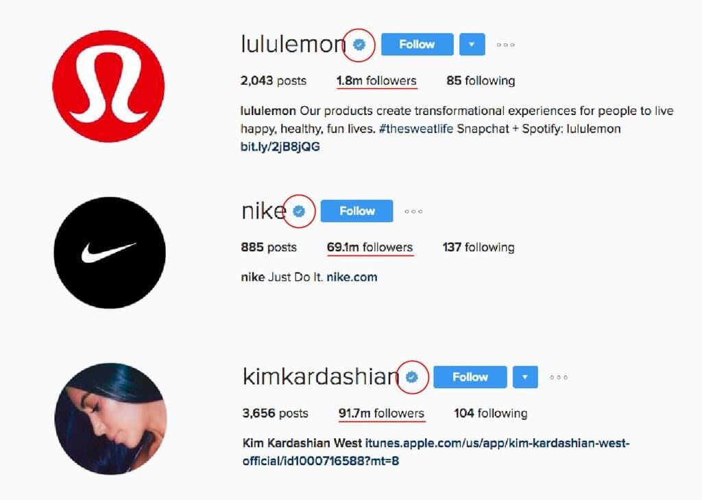 insignia de instagram