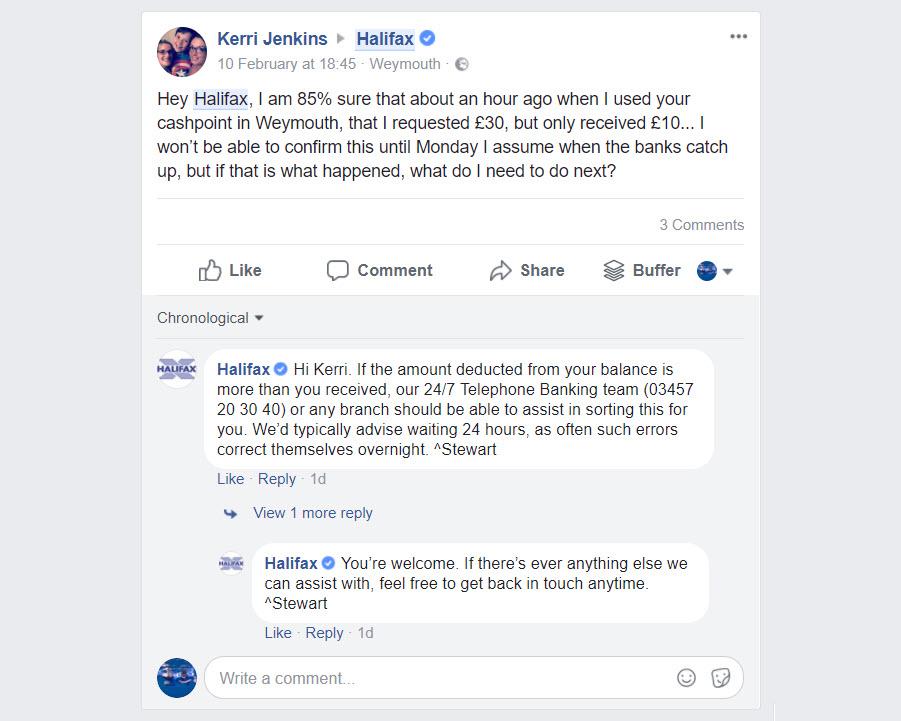 Cómo responder a los comentarios en facebook