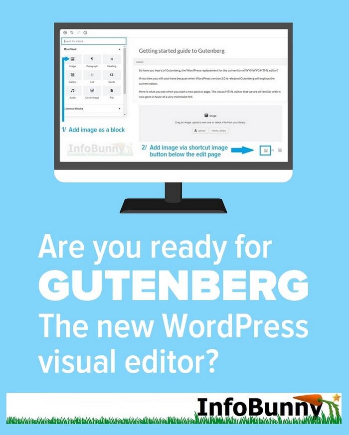 Gutenberg Guide - El nuevo editor visual de WordPess (CON FOTOS)
