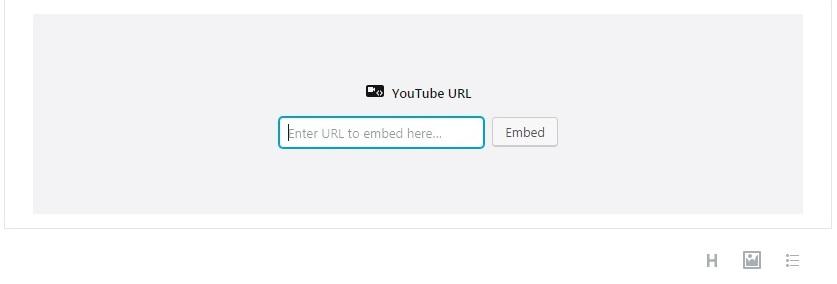 Agregar videos de YouTube Mi sencilla guía de inicio de Gutenberg