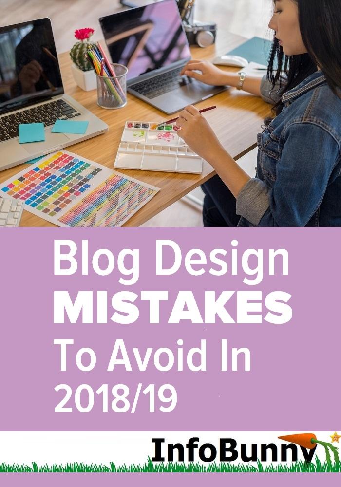 Lỗi thiết kế blog cần tránh