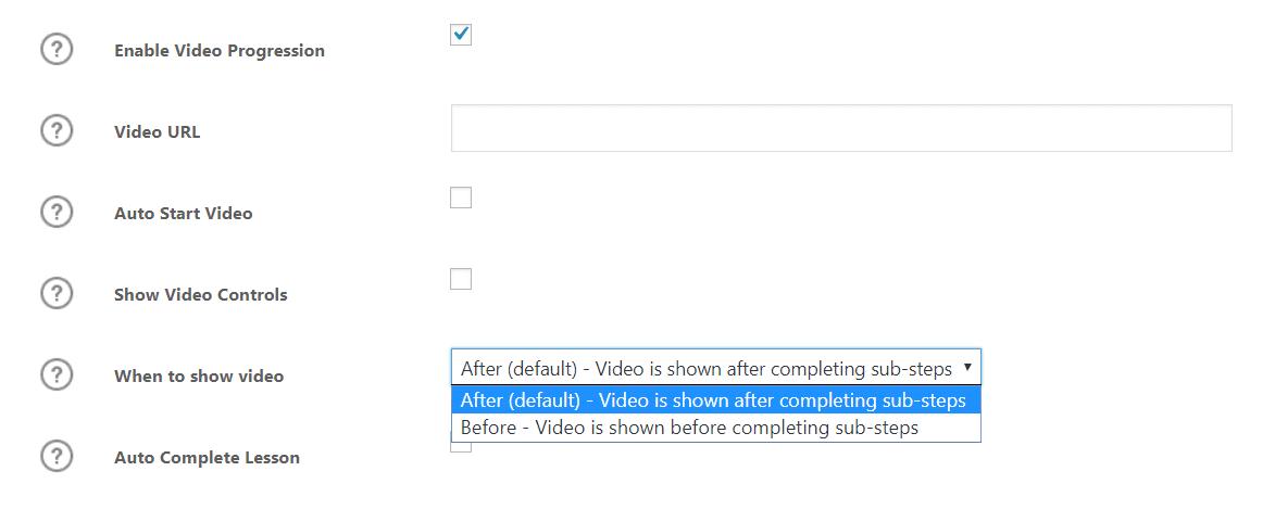 video learndash