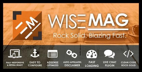 Wise Mag - Ən yaxşı WordPress reklam mövzusu