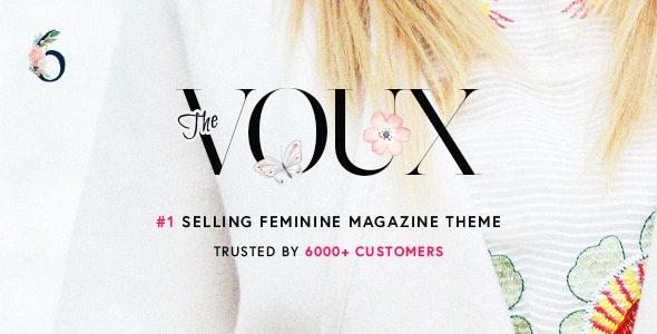 The Voux - Ən yaxşı WordPress Reklam mövzusu