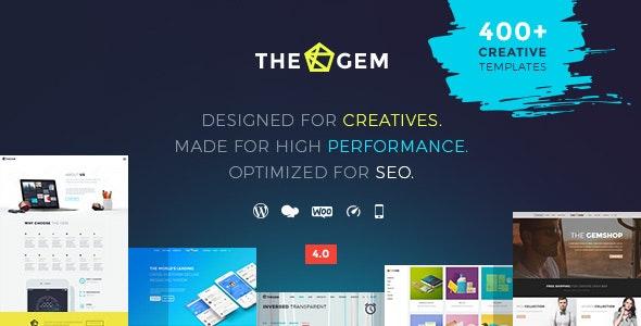 TheGem - eniten myyty teema ThemeForestissa