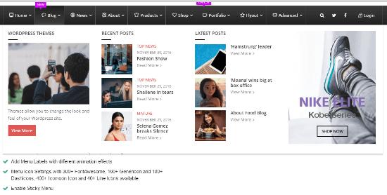8 các plugin menu lớn WordPress tuyệt vời để điều hướng trang web tốt hơn 1