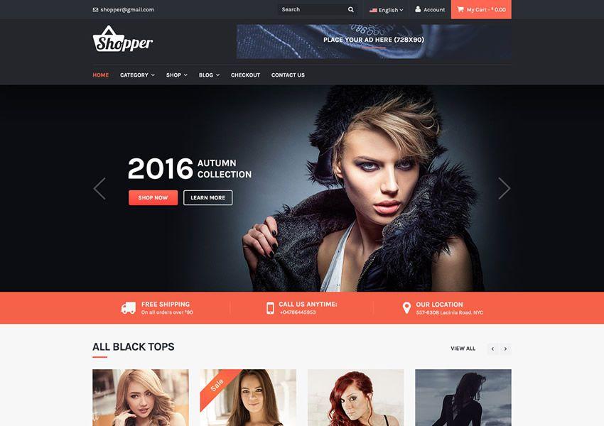 Tyche ilmainen WordPress teema wp reagoiva verkkokauppa shop woocommerce