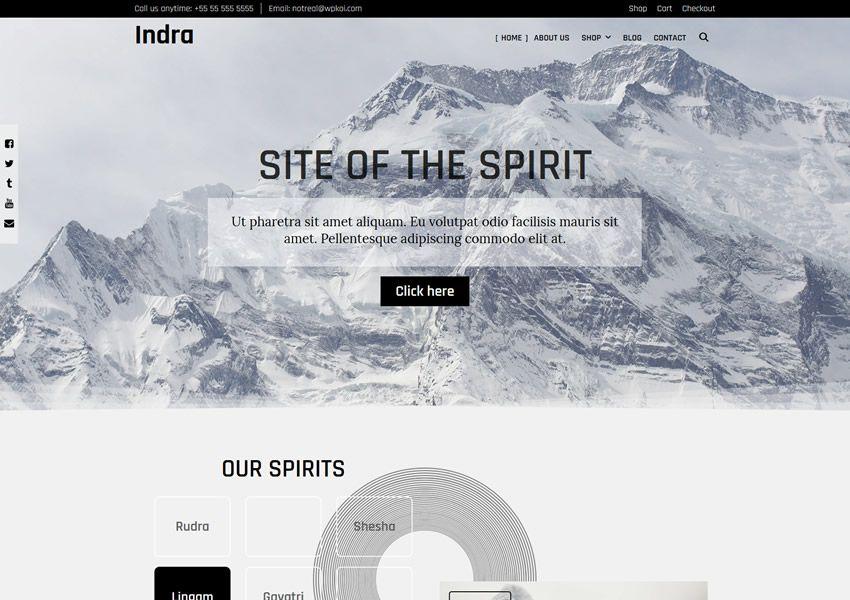 Indra WPKoi ilmainen WordPress-teema wp-reagoiva verkkokaupan verkkokauppa