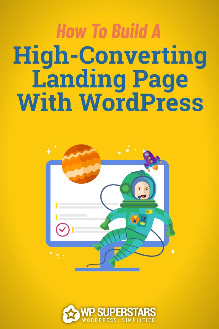 WordPress (dönüşüm yaradan) istifadə edərək açılış səhifəsini necə yaratmaq olar? 1
