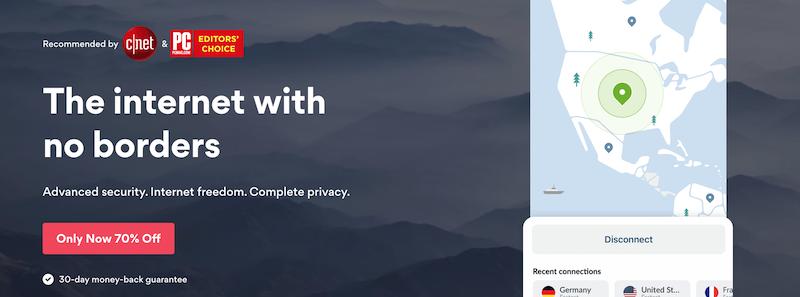 NordVPN es la tercera VPN más vendida