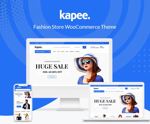 Kapee WordPress Téma pre webové stránky elektronického obchodu
