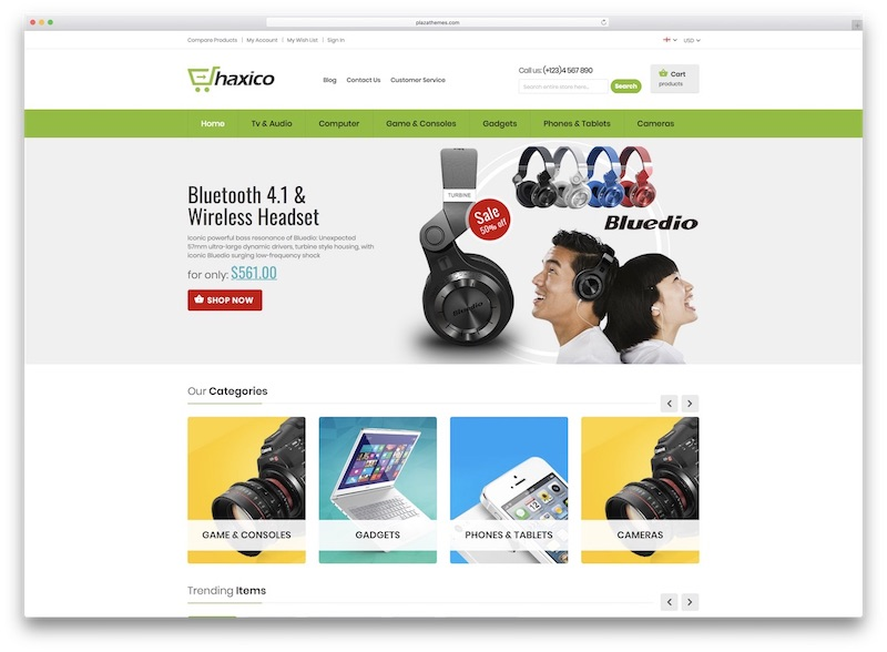 Mexiko WordPress Téma pre webové stránky elektronického obchodu