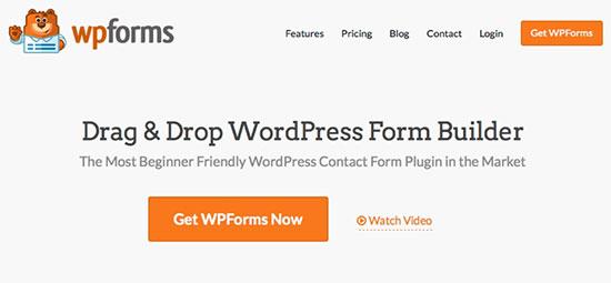 Complemento WPForms
