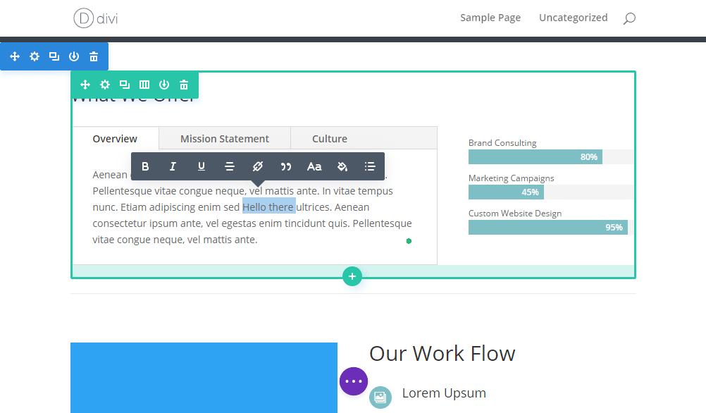 Nouvelle interface utilisateur frontale