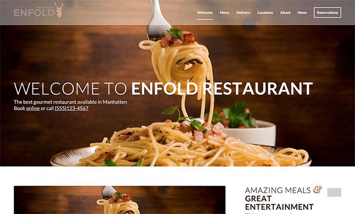 Açıq klassik restoran nümayişləri: ekran görüntüsü