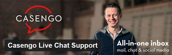 Podpora chatu Casengo