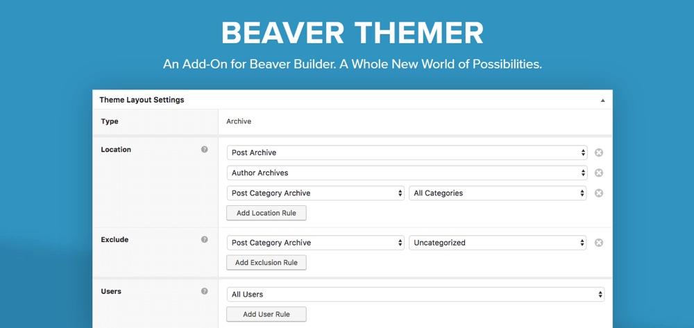 Complemento Beaver Themer