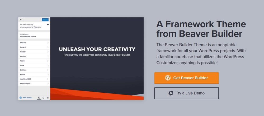 Beaver Builder Framework Theme