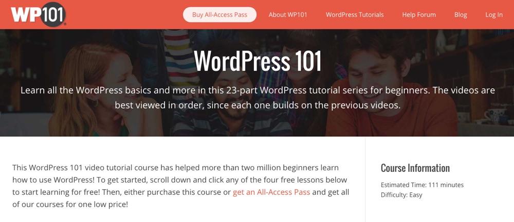 WordPress 101: Podstawy autorstwa WP101