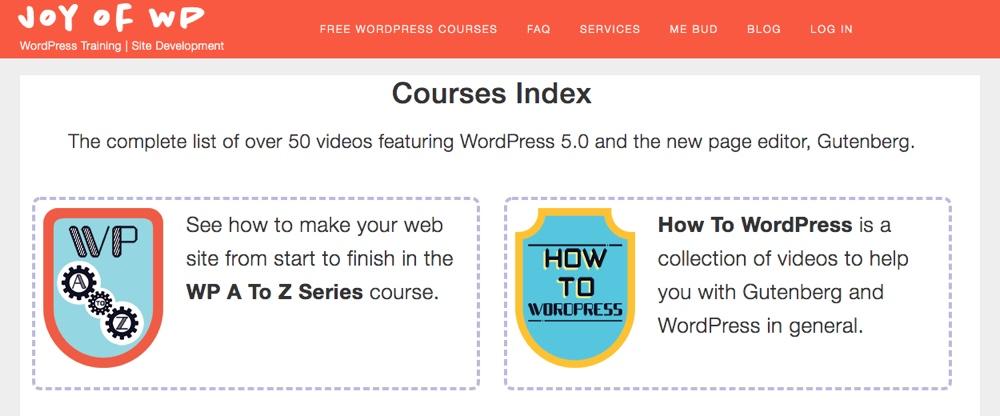 WP Joy: Szkolenie WordPress