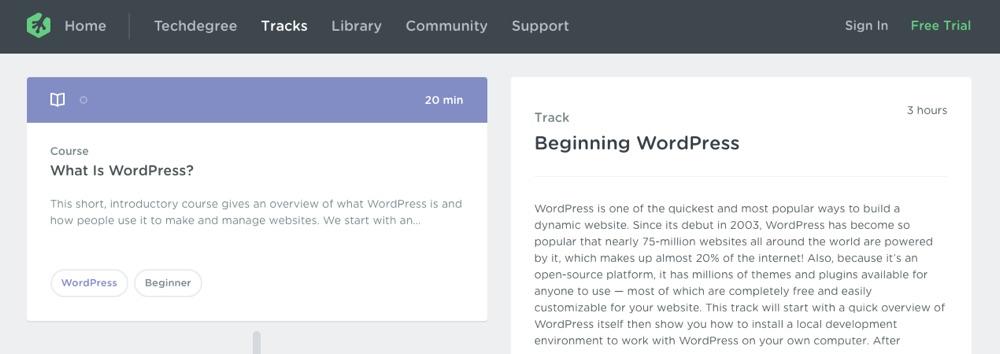 Uruchamianie WordPress przez Treehouse