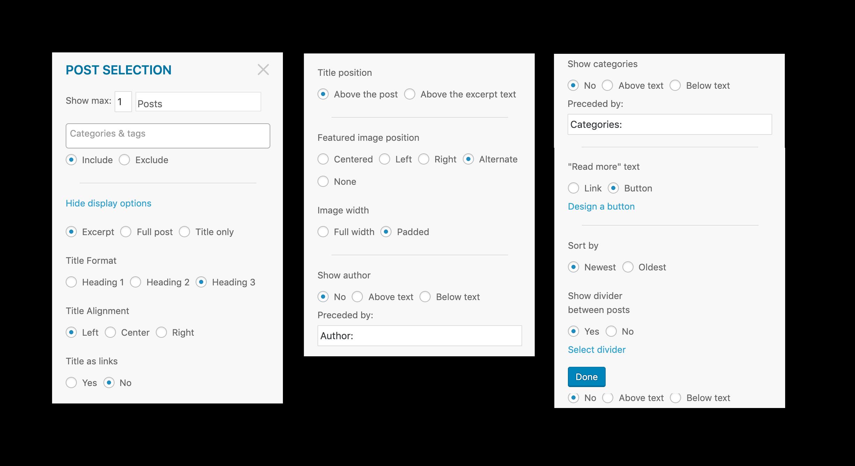MailPoet e-poçt generatorunda özəlləşdirmə seçimləri