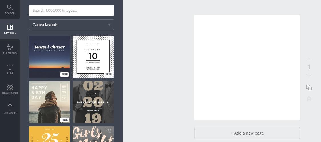 Kako stvoriti slike za svoj blog pomoću kartice Canva Design