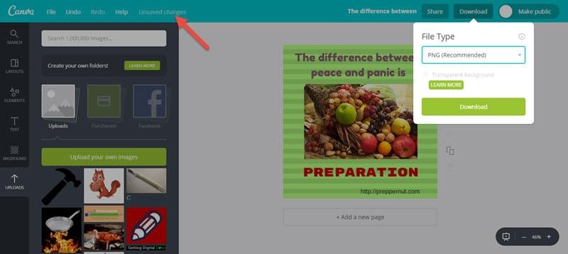 Kako se Canva koristi za stvaranje slika za vaš vodič za proširenje datoteka na blogu