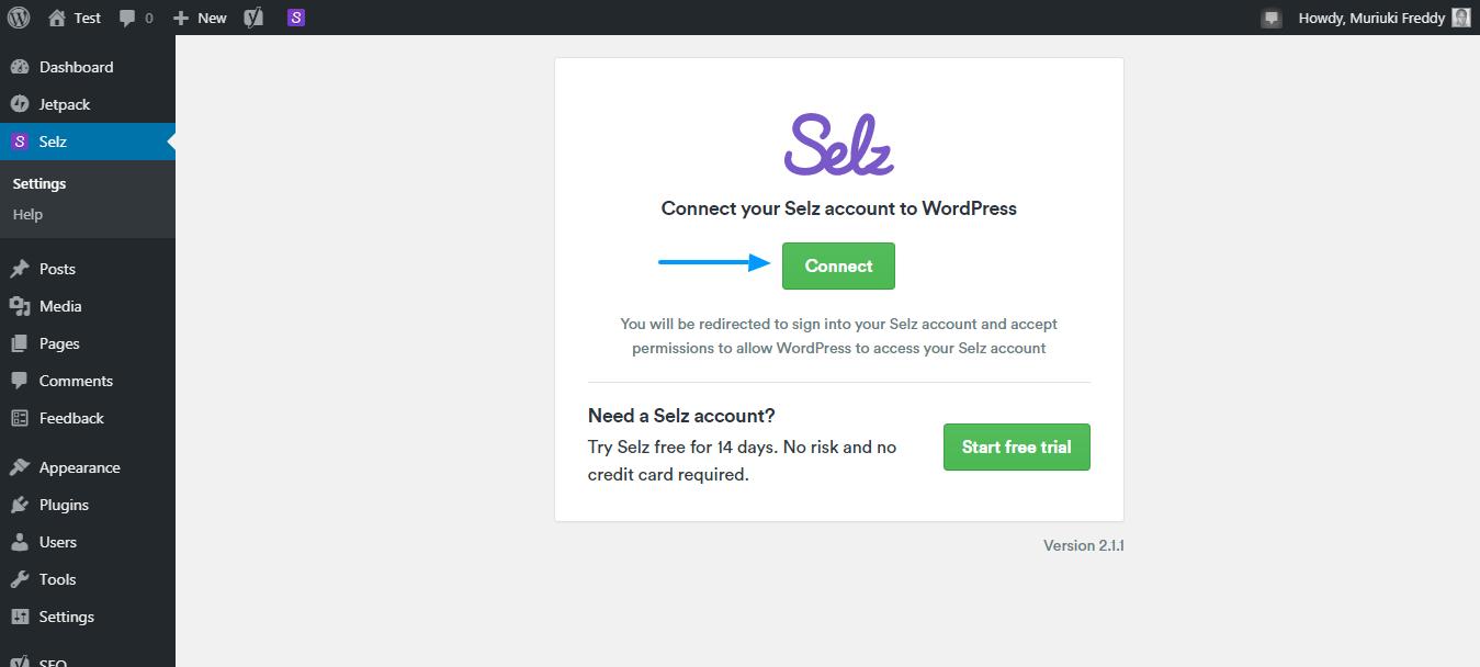 Pregled dodatka za eCommerce Selz WordPress 10