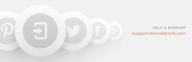 BestWebSoft sosial giriş