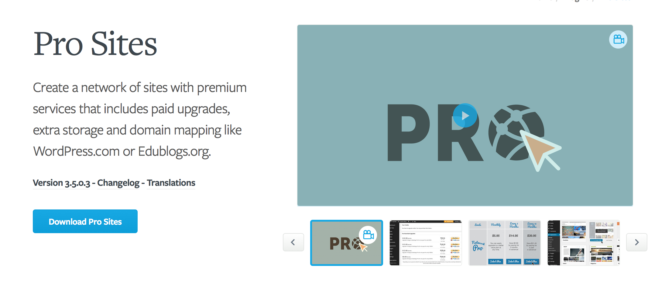 Plugin trang web chuyên nghiệp - Ví dụ trang giá