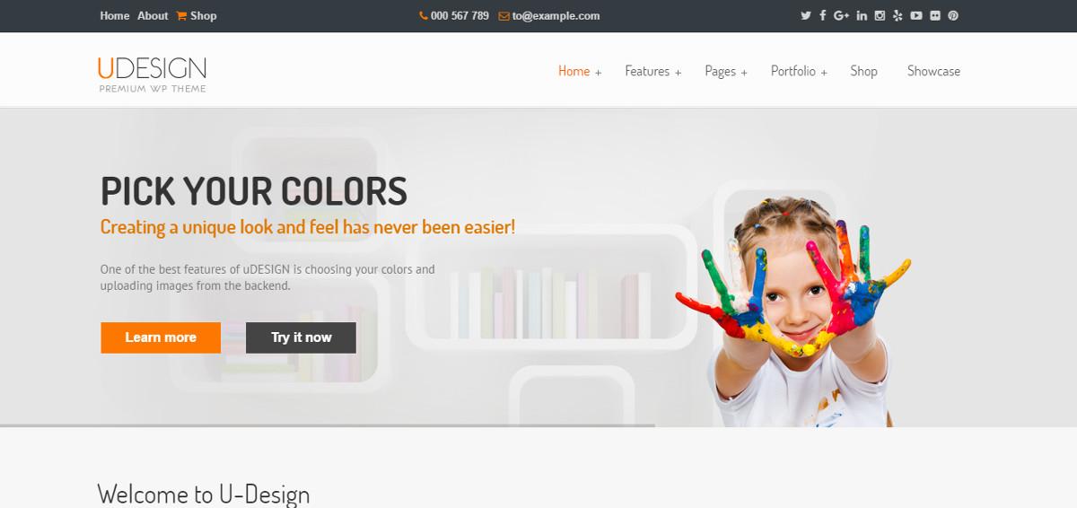 UDEsign WordPress -teema
